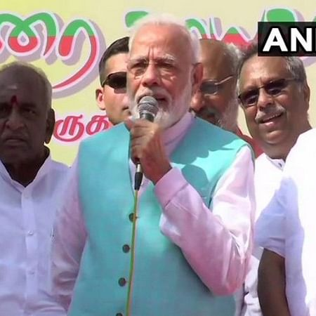Days after controversy over Hindi, PM Modi lauds Tamil as ancient language