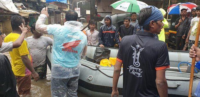 Mumbai heavy rains: NDRF team deployed in Kurla as rains persist
