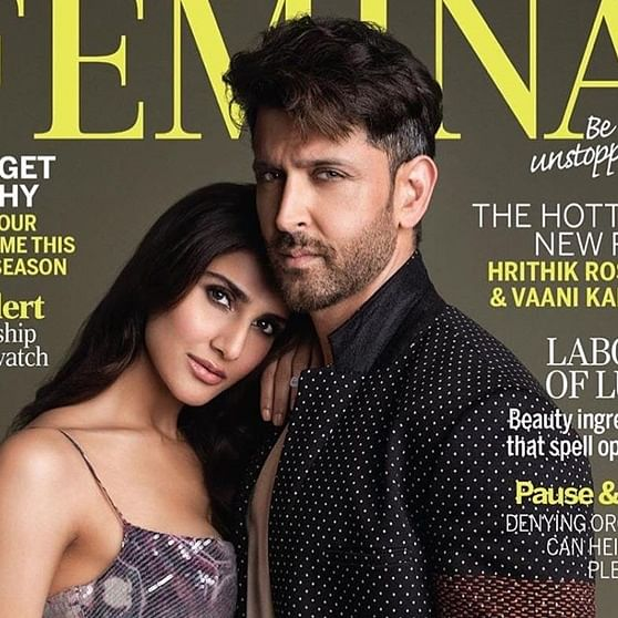 'War' duo Hrithik Roshan, Vaani Kapoor poses for latest magazine cover