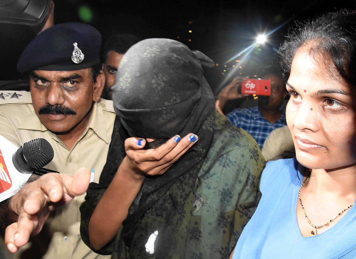 Monica Yadav, one of the accused in honey trap gang
