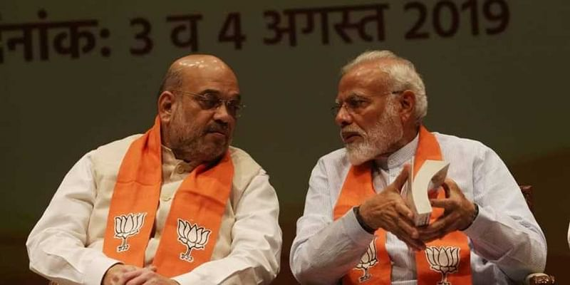 On PM Narendra Modi's 69 birthday, Amit Shah calls him symbol of 'strong will, decisive leadership'