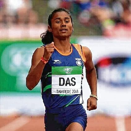 Hima Das ruled out of World Championship