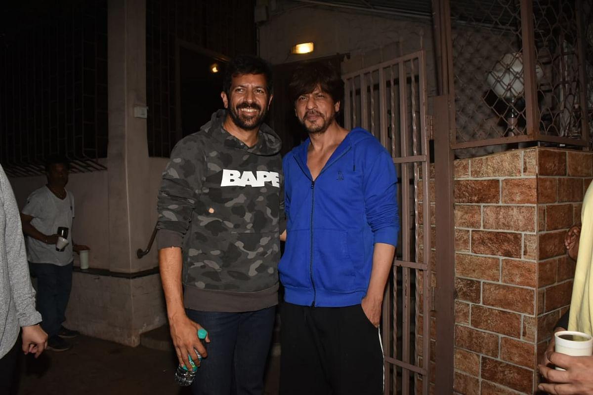 Kabir Khan and Shah Rukh Khan
