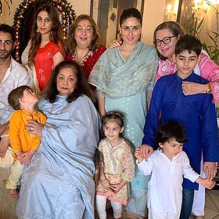 Taimur Ali Khan steals the show at Kapoor family's Ganesh Chaturthi celebrations