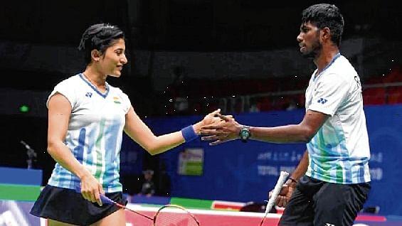India's mixed doubles pair Satwik-Ashwini notch up opening win in China badminton tournament