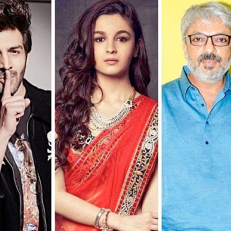 Kartik Aaryan, Alia Bhatt to star in  Sanjay Leela Bhansali's 'Gangubai'?