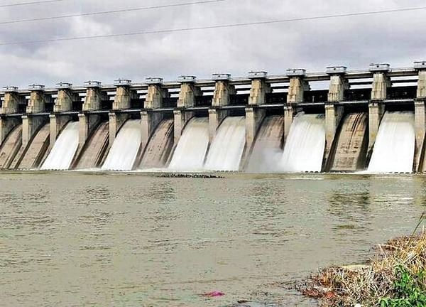 Water being discharged from Jayakwadi dam as inflow goes up