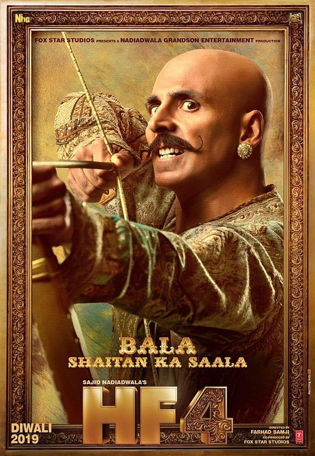 Housefull 4: Akshay Kumar is an angry Rajkumar Bala in this reincarnation comedy