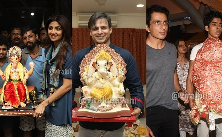 Shilpa Shetty, Kartik Aaryan and more B-Town celebs welcome 'Bappa'