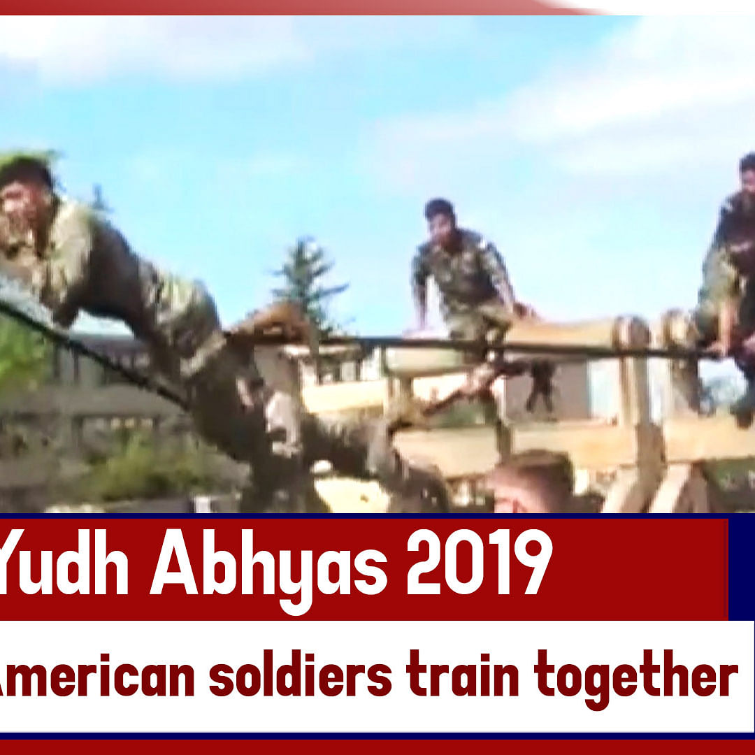 Yudh Abhyas 2019 | Indian, American Soldiers Train Together In US