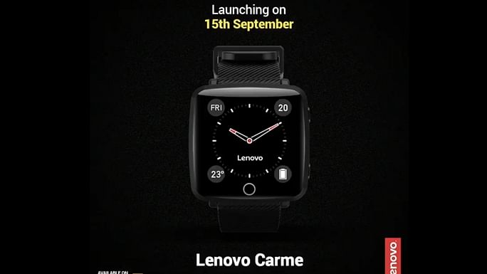 Lenovo Carme smartwatch launches in India on Flipkart