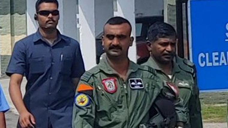 'Missing that moustache': Twitter reacts to Abhinandan Varthaman's new look