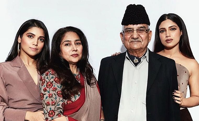 Bhumi Pednekar's grandfather, Maj. Dayachand Hooda, passes away; actress posts a heartfelt message on social media