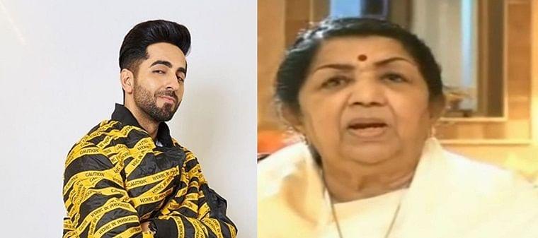 Lata Mangeshkar calls Ayushmann a 'good singer', advises him to 'pursue singing as ardently as acting'