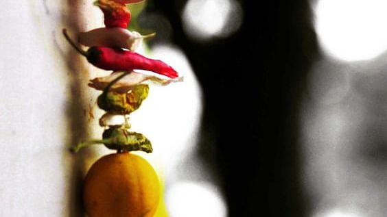 The saviour from evil eye, 'Nimbu Mirchi'