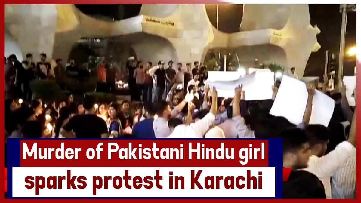 Murder Of Pakistani Hindu Girl Sparks Protest In Karachi