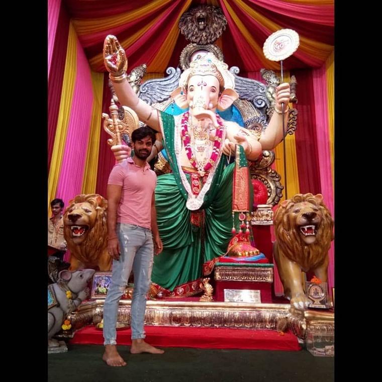 Yuvraaj Parashar wants to lay himself in Bappa's glory with his single Atharva