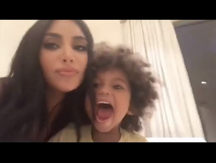 Kim Kardashian delayed giving birth to North West for a manicure