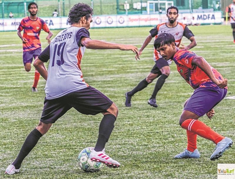 Rudra FA scrape past Castle Boys