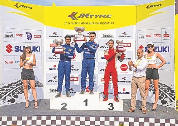Aaroh Ravindra bags JK Tyre Novice Cup
