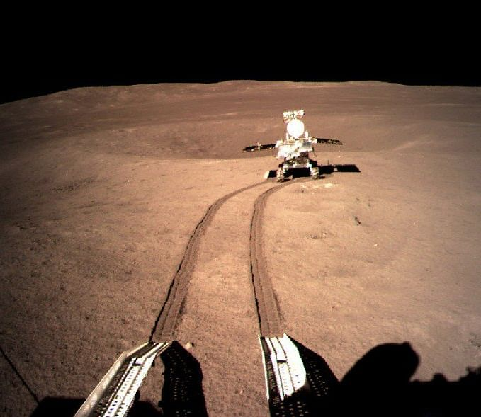 Chinese lunar rover have found 'something' on moon