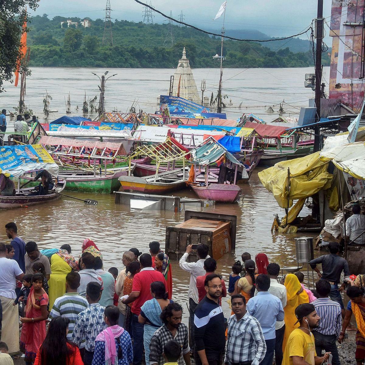 River Krishna in spate again, crest gates opened