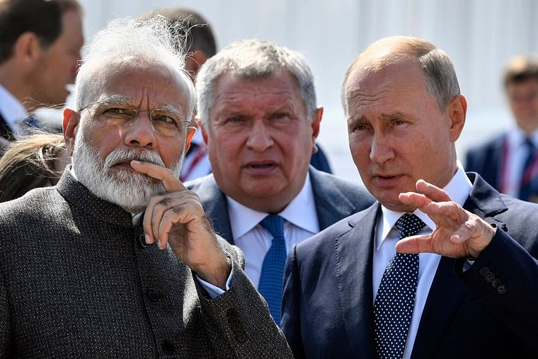 Putin-Modi bonhomie at play in talks