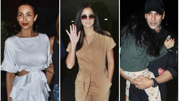Have you seen these pics of Akshay Kumar, Katrina Kaif, Malaika Arora and other B-town celebs?