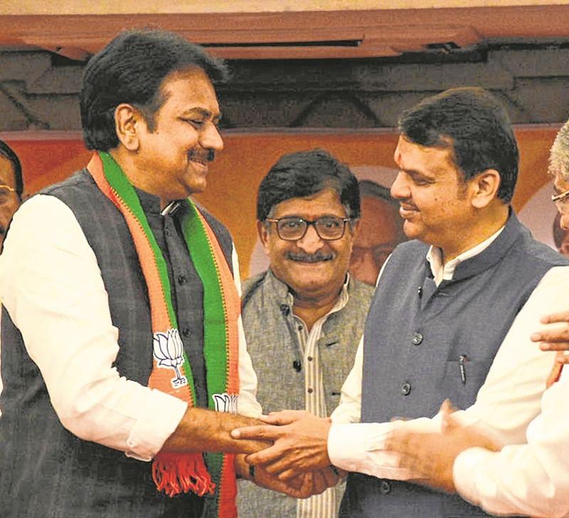 Harshvardhan Patil formally joins BJP