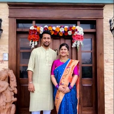 Ace spinner, Pragyan Ojha's wife, Karabee blessed with a baby boy