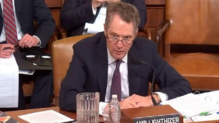 US Trade Representative Robert Lighthizer