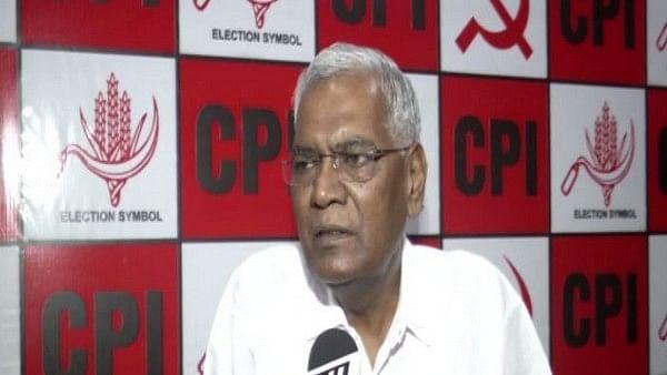 Communist Party of India (Marxist) General Secretary D Raja
