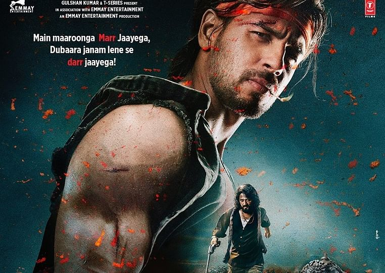Sidharth Malhotra unveils another feisty look from 'Marjaavaan' with a new release date