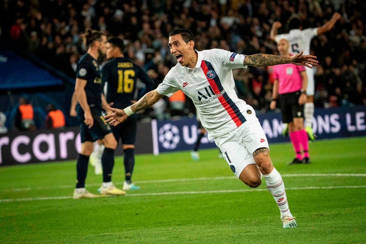 Argentine winger Angel Di Maria has made his pick on football's ultimate GOAT
