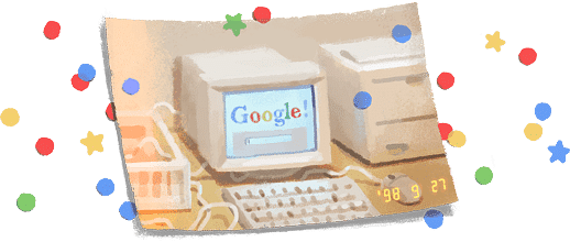 Google turns 21, marks birthday with special doodle