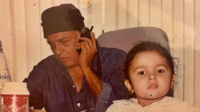 Alia Bhatt wishes her 'Pops' Mahesh Bhatt on 71st birthday with adorable childhood picture