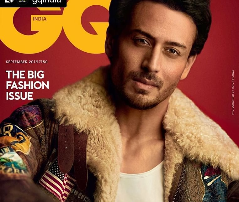 Tiger Shroff turns cover boy for September issue of latest magazine cover