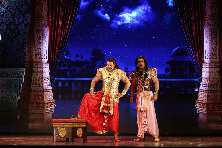 Puneet Issar presents a refreshing view of Duryodhan in his retelling of the Mahabharat on stage