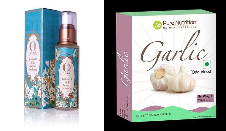 Product review: Natural Ayurvedic deodorants and Garlic oil pills