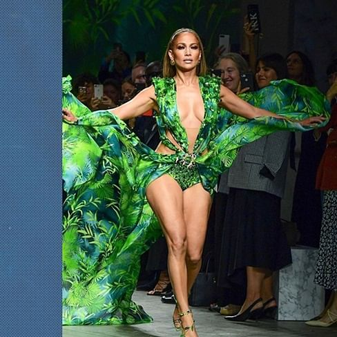 Jennifer Lopez opens up about the 'provocative' Versace 'Green Dress' on its 20th anniversary