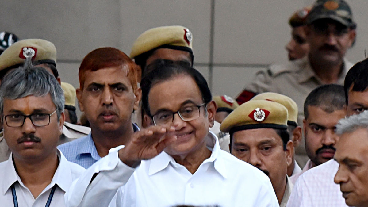 ED arrests Chidambaram in INX media case at Tihar Jail