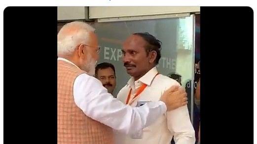 Prime Minister Narendra Modi hails ISRO chief K Sivan