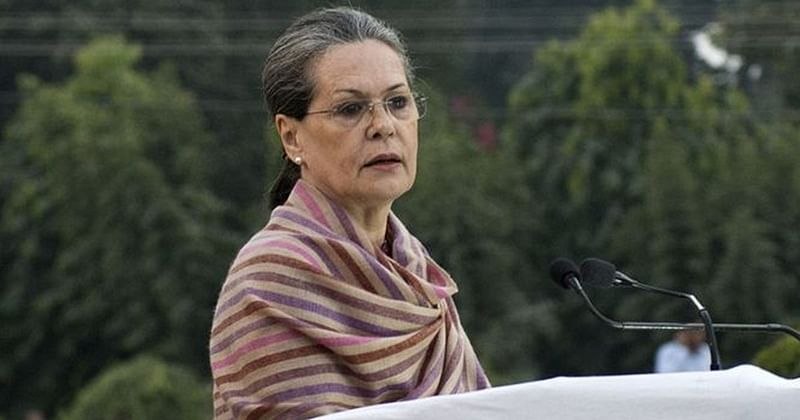 Unwelcome, Sonia Gandhi sits on seat of fire