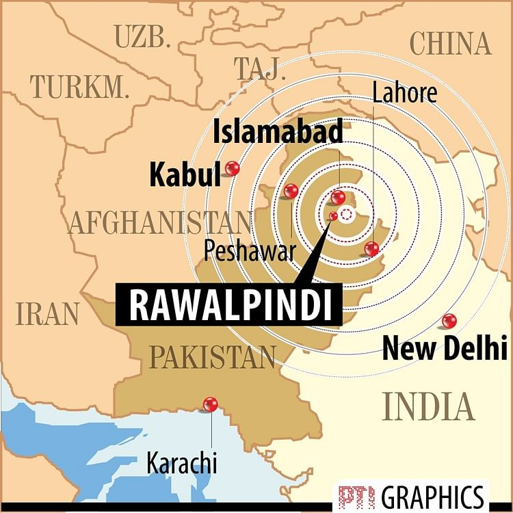 Tremors of Pakistan's 6.3 Ritcher earthquake felt in North India