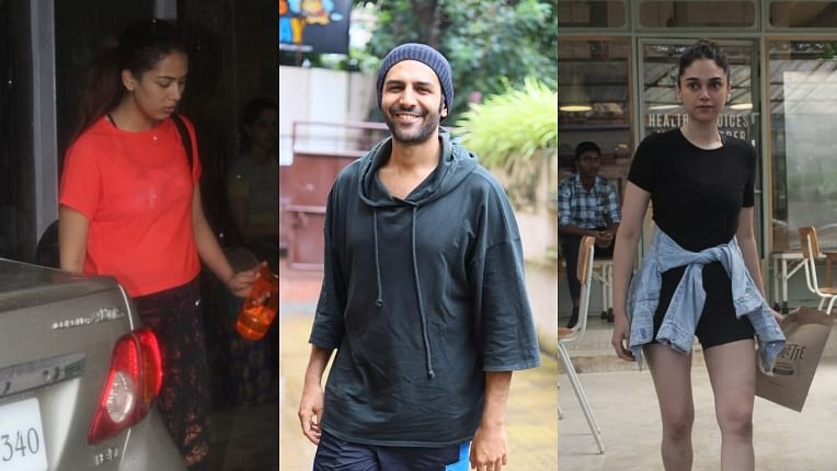 Have you seen these pictures of Aditi Rao Hydari, Mira Kapoor, Kartik Aaryan and other B-town celebs?