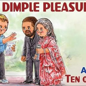 Christopher Nolan's 'Tenet' gets an Amul Topical tribute, features Dimple Kapadia and John David Washington