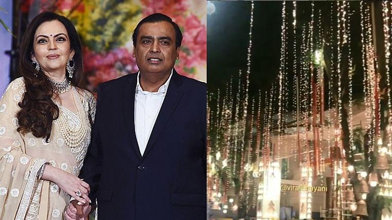 Ganesh Chaturthi 2019: Pedder Road outside Ambani's Mumbai residence Antilia decked up with unique decor