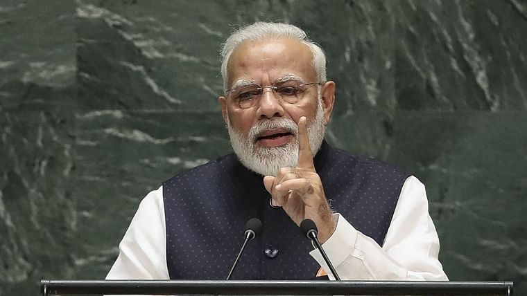 PM Narendra Modi snubs Pakistan in UNGA address, focuses on India's contribution in development and peace