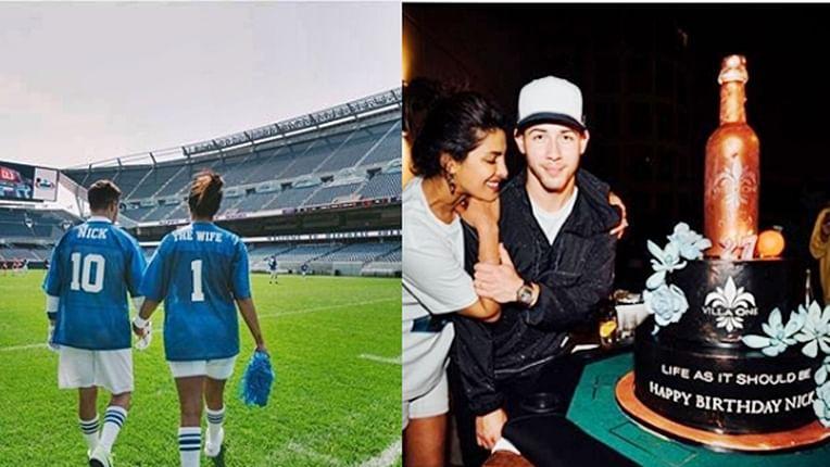 Priyanka Chopra 'The Wife' surprises husband Nick Jonas with football game on his 27th birthday