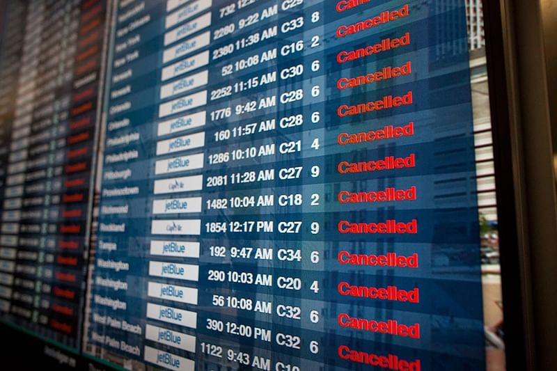 30 flights cancelled at Mumbai airport, 118 delayed
